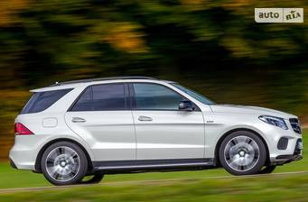 Mercedes-Benz GLE-Class GLE SUV 400 AT (333 л.с.) 4Matic  2018