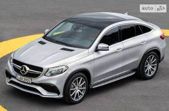 Mercedes-Benz GLE-Class Mercedes-AMG GLE Coupe 63 AT (557 л.с.) 4Matic 2018