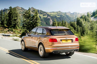 Bentley Bentayga 6.0 АТ (608 л.с.) 2018