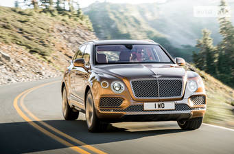 Bentley Bentayga 6.0 АТ (608 л.с.) 2016