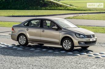 Volkswagen Polo New 1.4 TSI AT (125 л.с.) 2017