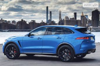 Jaguar F-Pace SVR 5.0 AT (550 л.с.) AWD 2019