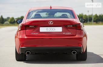 Lexus IS 200t AT (242 л.с.) 2018