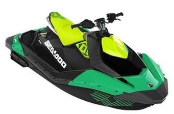 BRP Sea-Doo Spark 2-UP 90hp/IBR Trixx Blue/Chili Pepper 2019