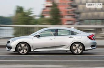 Honda Civic 1.6 CVT (125 л.с.) 2019