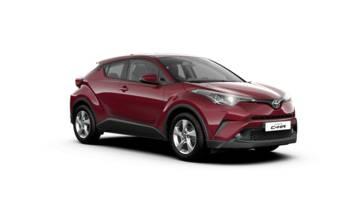 Toyota C-HR 1.2 CVT (116 л.с.) AWD 2019