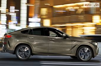 BMW X6 M50d Stepotronic (400 л.с.) xDrive 2019
