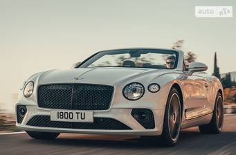 Bentley Continental GT 6.0 W12 TSI AT (635 л.с.)  2019