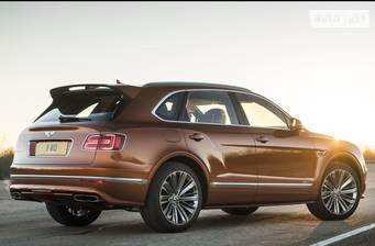 Bentley Bentayga Speed 6.0 АТ (635 л.с.) 2019