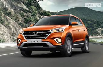 Hyundai Creta FL 1.6 DOHC AT (123 л.с.) 2WD 2019
