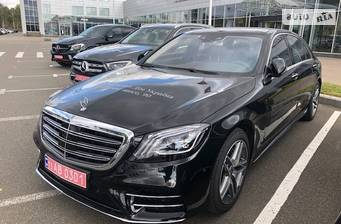 Mercedes-Benz S-Class S 350d AT (286 л.с.) 4Matic 2019