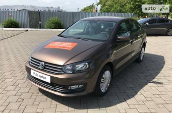 Volkswagen Polo New 1.4 TSI AT (125 л.с.) 2018