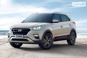 Hyundai Creta FL 1.6 DOHC AT (123 л.с.) 2WD Top
