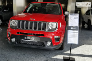 Jeep Renegade 1.3i АТ (180 л.с.) 4х4 Limited