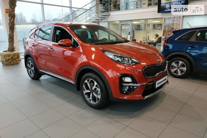 Kia Sportage 2.0 CRDi AT (185 л.с.) 4WD Luxury