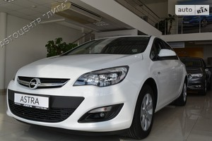 Opel Astra J 1.4Т МТ (140 л.с.) Individual