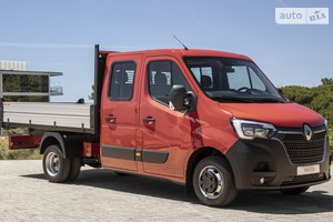Renault Master груз. Double Cab 2.3D MT (165 л.с.) L3H1 4500
