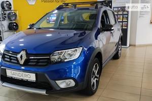 Renault Sandero StepWay 0.9TCe 5РКП (90 л.с.) Ultramarine