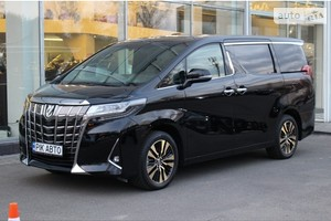 Toyota Alphard 3.5i AT (300 л.с.) Lounge Executive
