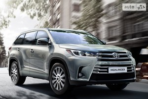 Toyota Highlander New 3.5 АТ (249 л.с.) 4WD 7s Elegance