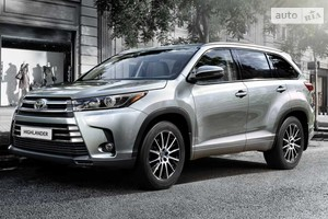 Toyota Highlander New 3.5 АТ (249 л.с.) 4WD 7s Elegance