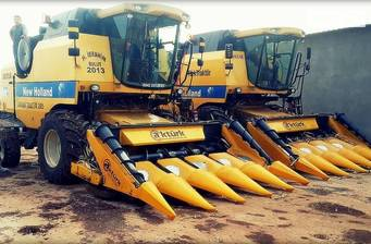 Akturk New Holland 8-рядная 2020