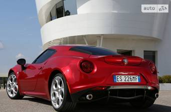 Alfa Romeo 4C 1.8 TBi АТ RWD 2018