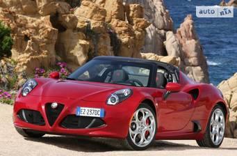 Alfa Romeo 4C 2020