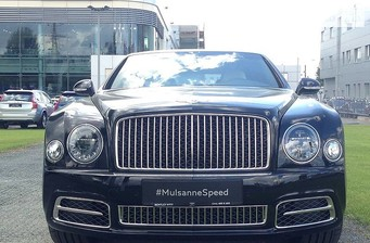 Bentley Mulsanne 6.8 AT (537 л.с.) Speed 2017