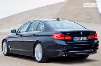 BMW 5 Series G30 520d MT (190 л.с.)  2017