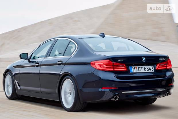 Autoria Bmw 5 Series G30 530i аt 252 лс Xdrive Base 2017