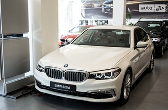 BMW 5 Series G30 520d MT (190 л.с.)   2016