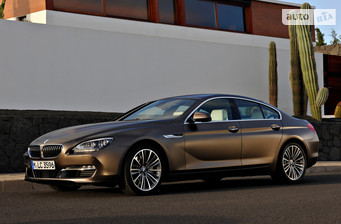 BMW 6 Series Gran Coupe 650i AT (450 л.с.)  2016