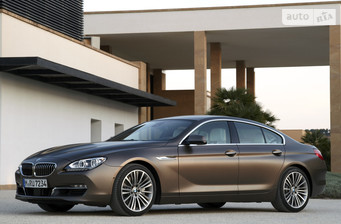 BMW 6 Series Gran Coupe 640i АТ (320 л.с.)  2016