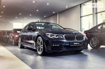 BMW 7 Series G11 750i AT (449 л.с.) 2018