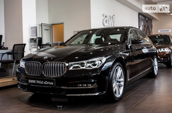 BMW 7 Series G12 740Ld AT (320 л.с.) xDrive  2016