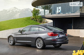 BMW 3 Series GT F34 320і MT (184 л.с.) 2017