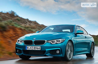 BMW 4 Series F32 440i MT (326 л.с.) 2017