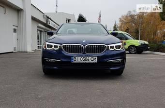BMW 5 Series G30 520i АT (184 л.с.)  2017