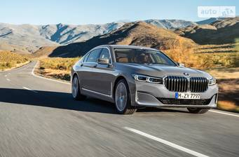BMW 7 Series 740Li Steptronic (340 л.с.) xDrive 2019