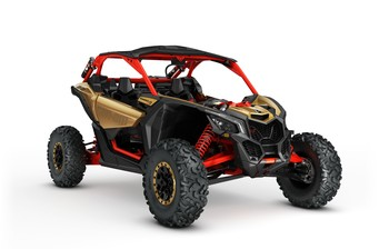 BRP Maverick X3 Xrs turbo R Liquid Gold  2017