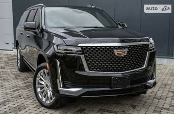 Cadillac Escalade ESV 6.2 AT (420 л.с.) AWD 2021