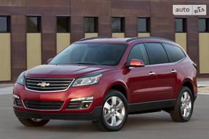 Chevrolet traverse 1 покоління (рестайлінг) Кросовер