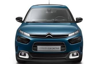Citroen C4 Cactus 1.6 BlueHDi РКПП (100 л.с.) S&S 2018