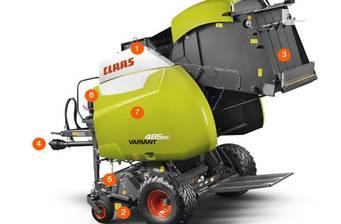Claas Variant 470 2019