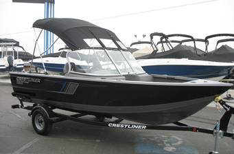 Crestliner 1650 Fish Hawk WT 5.1m 2018