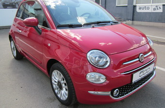 Fiat 500 New 1.2 AT (69 л.с.) Lounge 2016