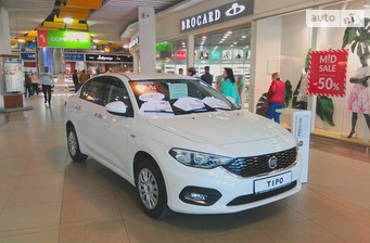Fiat Tipo 1.4 МТ (95 л.с.) Mid 2017