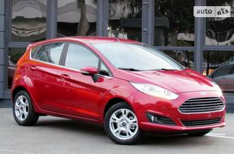 Ford Fiesta 1.6 АT (105 л.с.) 2017