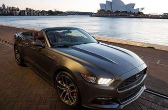 Ford Mustang Convertible 2.3 АТ (314 л.с.) Ecoboost 2017